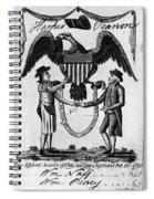 Labor Certificate, 1795 Spiral Notebook