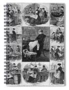 Labor: Women, 1868 Spiral Notebook