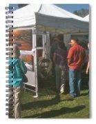 Lac St Clair Artfair 2012 Spiral Notebook