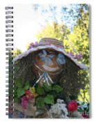 Lace And Straw Spiral Notebook