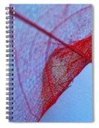 Lace Leaf 3 Spiral Notebook