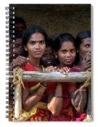 Ladies In Waiting Spiral Notebook