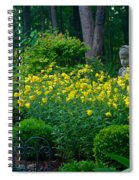 Lady Among The Blossoms Spiral Notebook