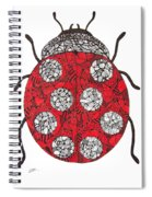 Lady Bug Spiral Notebook