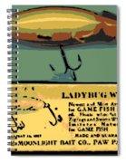 Lady Bug Wiggler Spiral Notebook