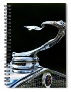 Lady Cadillac 1931 Spiral Notebook