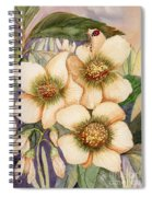 Lady Feed Spiral Notebook