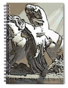 Lady Godiva Statue Spiral Notebook