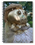 Lady Goldcrow Spiral Notebook