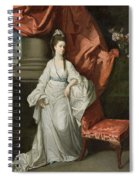 Lady Grant - Wife Of Sir James Grant Spiral Notebook