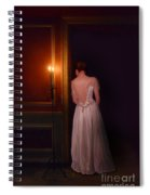 Lady In Candle Light Spiral Notebook