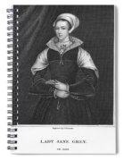 Lady Jane Grey (1537-1554) Spiral Notebook