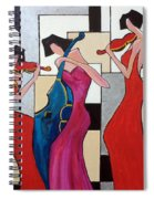 Lady Musicians Spiral Notebook