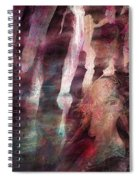 Lady Of The Mist Spiral Notebook