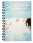 Lady Of The Water Spiral Notebook