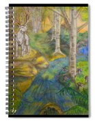 Lady Of The White Birch Spiral Notebook