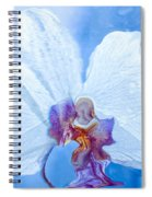 Lady Orchid The Sky Beckons Spiral Notebook
