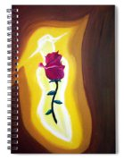 Lady Rose Spiral Notebook