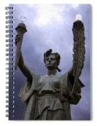 Lady Victory Spiral Notebook