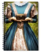 Lady With A Chest Spiral Notebook
