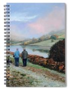 Ladybower Reservoir - Derbyshire Spiral Notebook