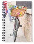 Lady's Bike Spiral Notebook