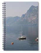 Lago Di Lugano Spiral Notebook