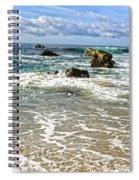 Laguna Beach Coast Spiral Notebook