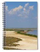 Laguna Madre At Laguna Atascosa Spiral Notebook