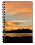 Lake Casitas Sunrise Spiral Notebook