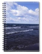 Lake Erie At Evangola State Park 2 Spiral Notebook