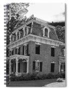 Lake George Farmhouse Spiral Notebook