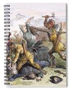 Lake George: Massacre, 1757 Spiral Notebook