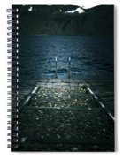 Lake In The Winter Spiral Notebook