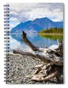 Lake Kathleen In Kluane National Park Spiral Notebook