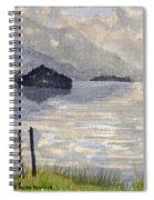 Lake Kilarney Ring Of Kerry Watercolour Painting Spiral Notebook