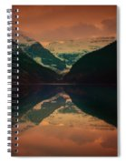 Lake Louise Abstract Spiral Notebook