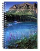 Lake Louise Banff Canada Spiral Notebook