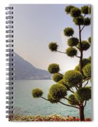 Lake Lugano - Monte Salvatore Spiral Notebook
