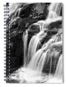 Lake Mcdonald Falls Glacier National Park Spiral Notebook