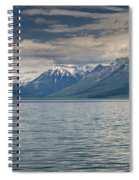 Lake Mcdonald Panorama Spiral Notebook
