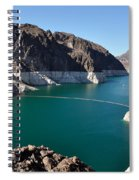 Lake Mead By Hoover Dam Spiral Notebook
