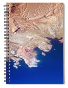 Lake Mead Shores Nv Planet Earth Spiral Notebook