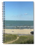 Lake Michigan From The Michigan State Side Spiral Notebook