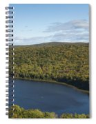 Lake Of The Clouds 2 Spiral Notebook