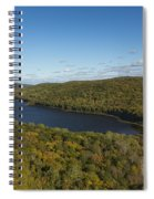 Lake Of The Clouds 3 Spiral Notebook