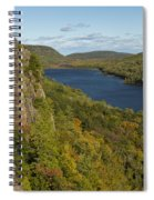 Lake Of The Clouds 4 Spiral Notebook
