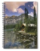 Lake Ohara Lodge Spiral Notebook