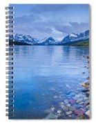 Lake Sherburne Shoreline Spiral Notebook