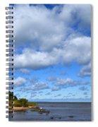 Lake Superior At Whitefish Bay Spiral Notebook